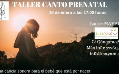 Taller Canto Prenatal