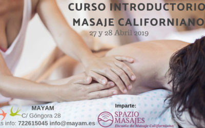 Curso Introductorio Masaje Californiano